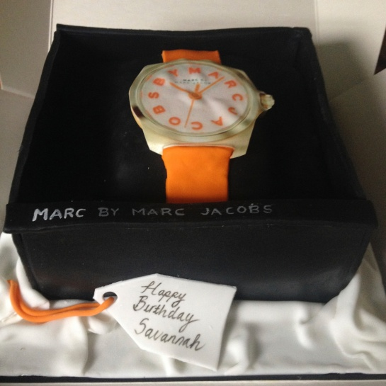"Its that ""time"" again: birthday time and cake time, ooh and marc jacobs time !!"