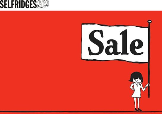 Selfridges Sale.