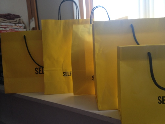 just a few of 'little yellow bags' acquired in the past few months.