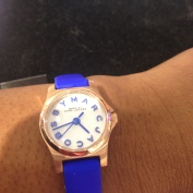 Royal Blue and Rose Gold