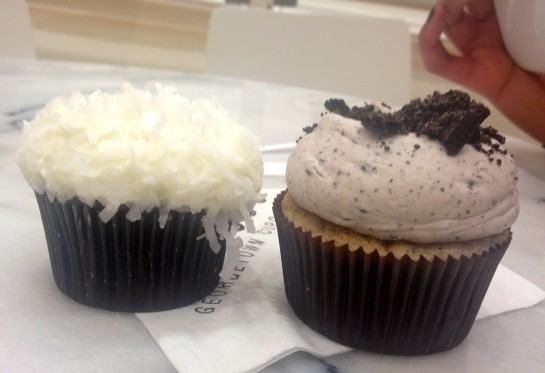coconut and cookies and creme