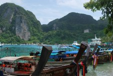 The long tail boats of Phi Phi