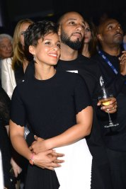 Alica Keys and husband Swizz Beatz