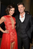 Hotties; Paula Patton and Robin Thicke