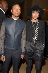 Pharrell and his wife
