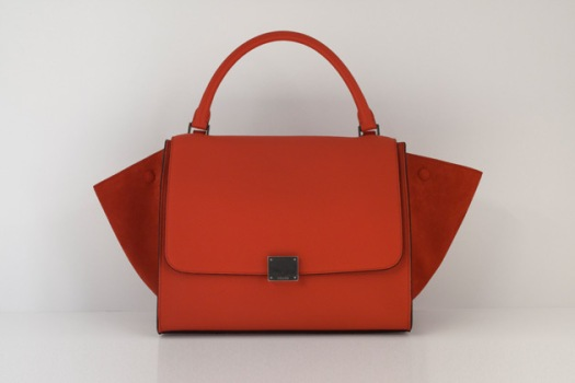 Celine-Trapeze-bag-in-Orange-Vermillon