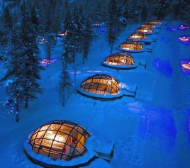 Glass Igloos, Finland