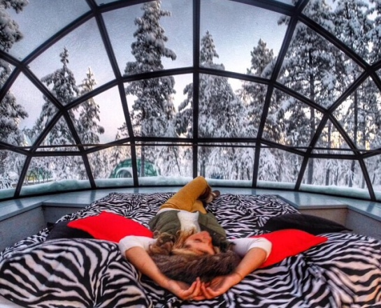 Glass Igloo, Finland