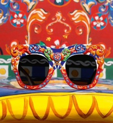 D&G Sicilian Carretto inspired Sunglasses