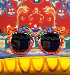 D&G Sicilian Carretto inspired Sunglasses